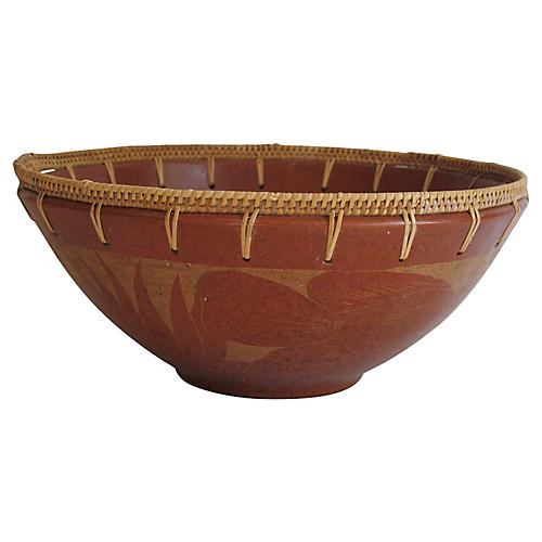 Terracotta Fish Bowl
