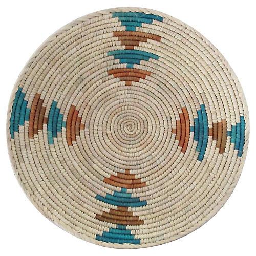 Orange & Blue Arrow Alternating Basket