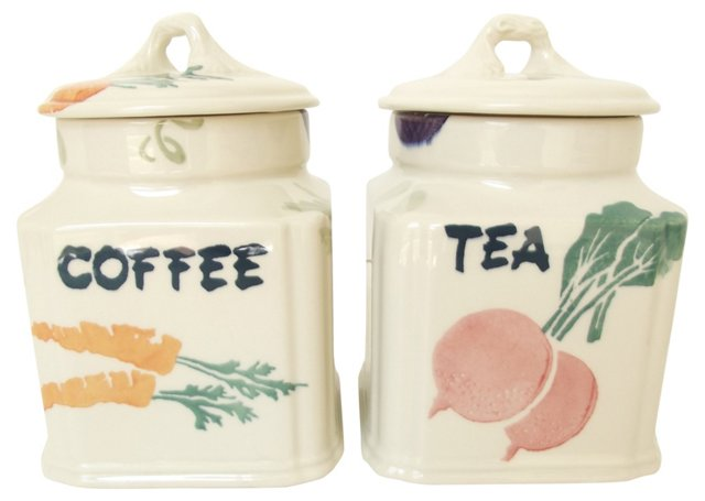 Royal Winton English Canisters