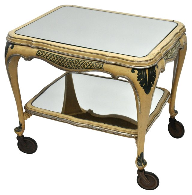 Antique Italian Tea Cart