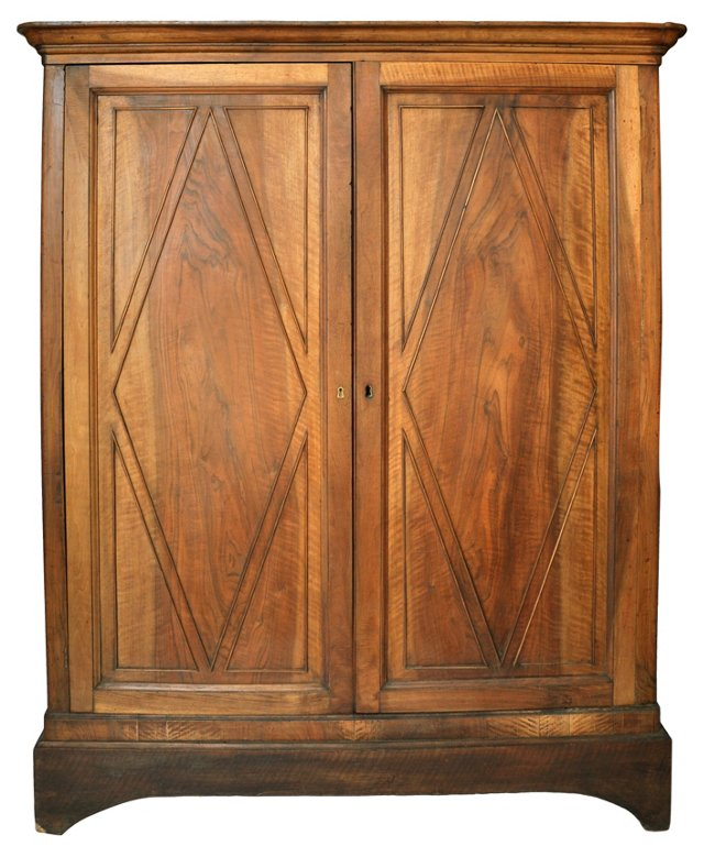 19th-C. French   2-Door Cabinet