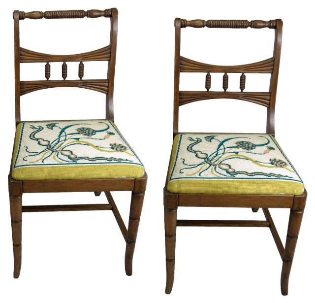Side Chairs by Drexel,  Pair