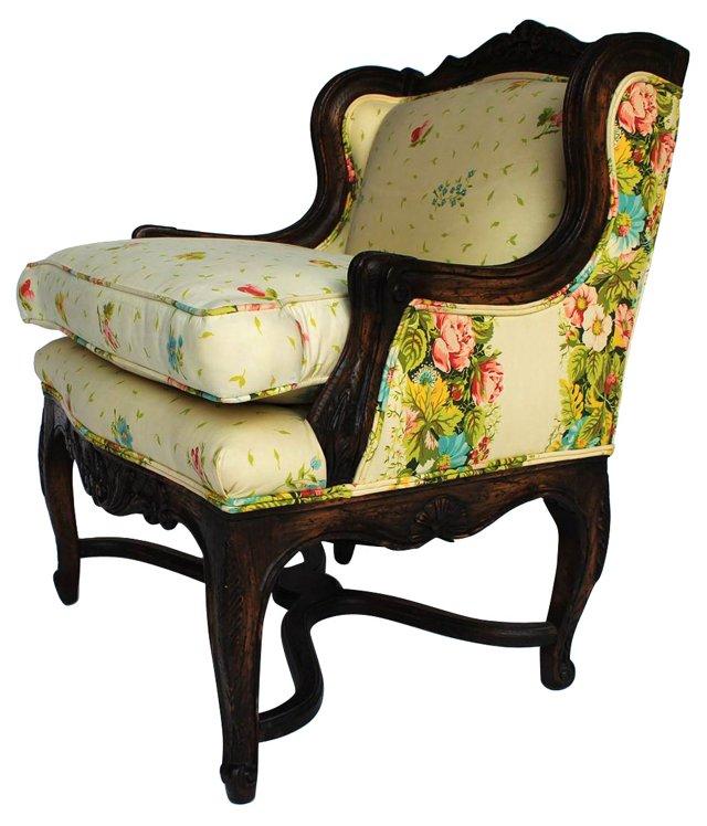Petite 19th-C.  Armchair