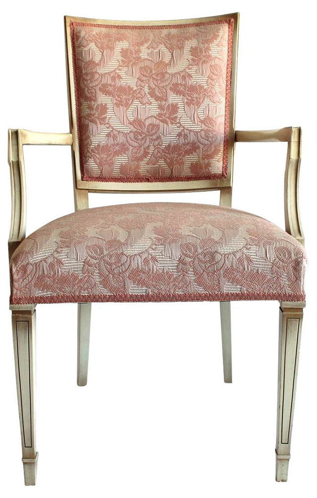 Louis XVI-Style Painted  Armchair