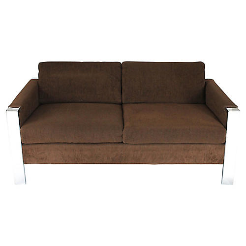 Mid-Century Modern Loveseat by Founders