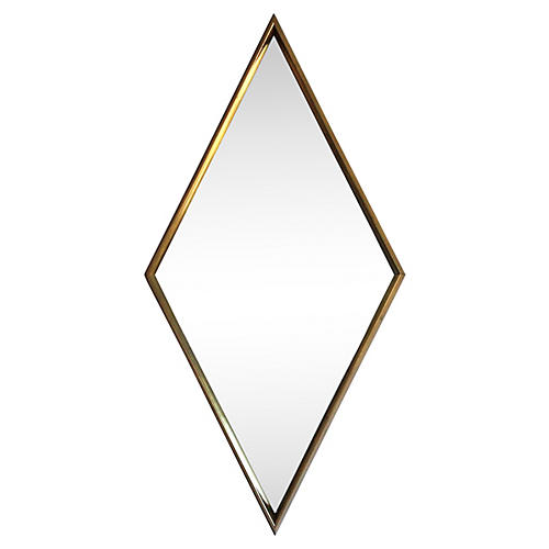 Diamond Shaped Wall Mirror