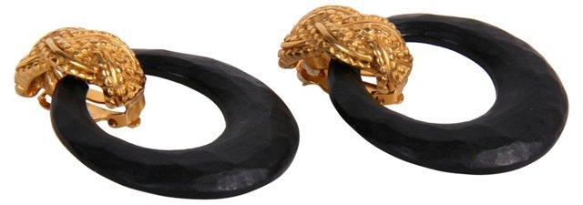 Erwin Pearl Hoop Earrings