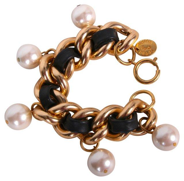 Erwin Pearl Chain Link Bracelet