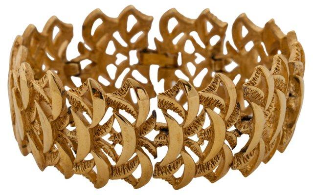 Trifari Goldtone Bracelet