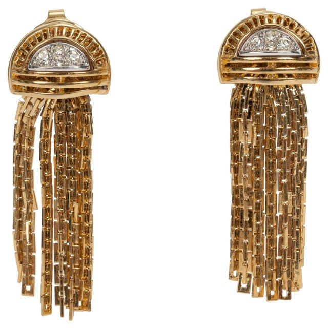 D'Orlan Fringe Earrings