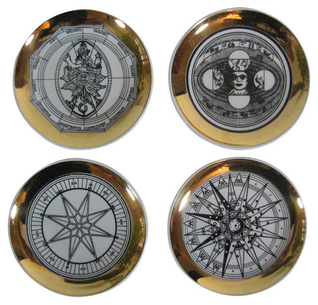 Bucciarelli Astrology Dishes, S/4