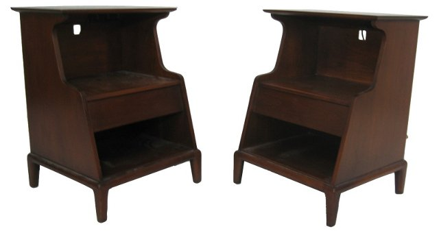 Heritage Henredon End Tables, Pair