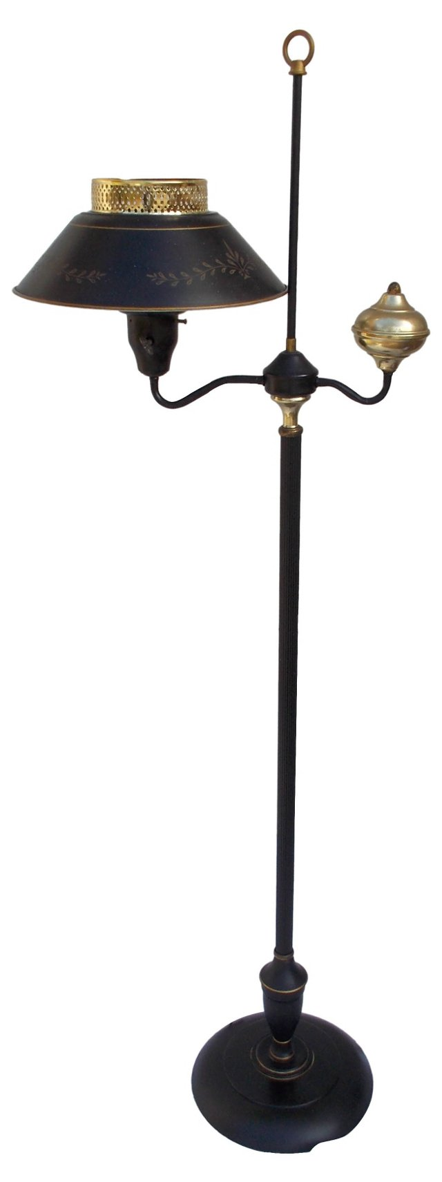 Black Tole Floor Lamp