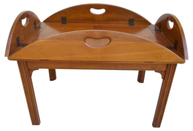 English Butler's Coffee Table