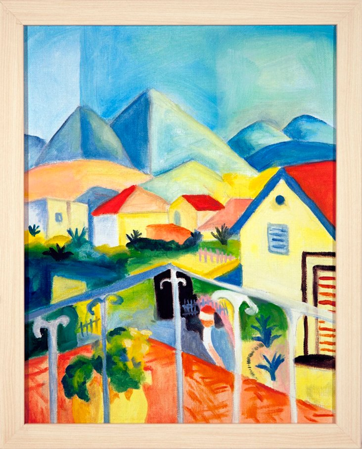MOVE per MLHomage to August Macke No. 2