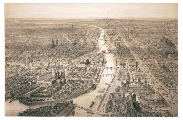Paris in 1860