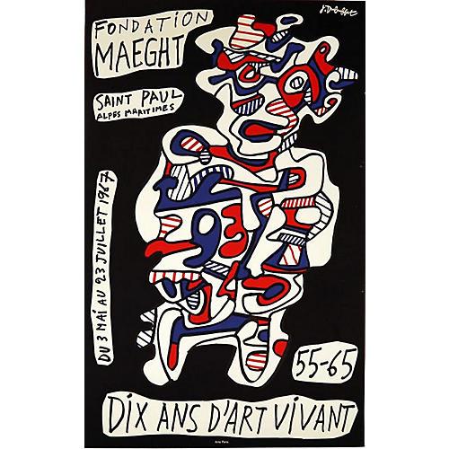 Dubuffet Art Brut Poster