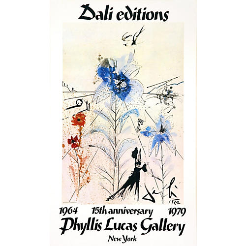 Original Dali Exhibit Poster #2