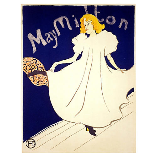 Toulouse Lautrec May Milton Poster
