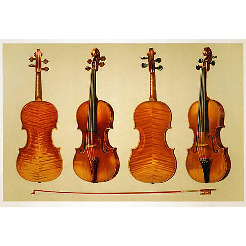 Two Rare Violins with Bow
