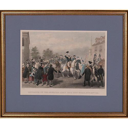1783 Entrance of Washington into NY