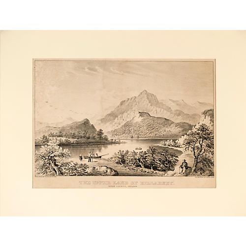 Currier & Ives Upper Lake of Killarney