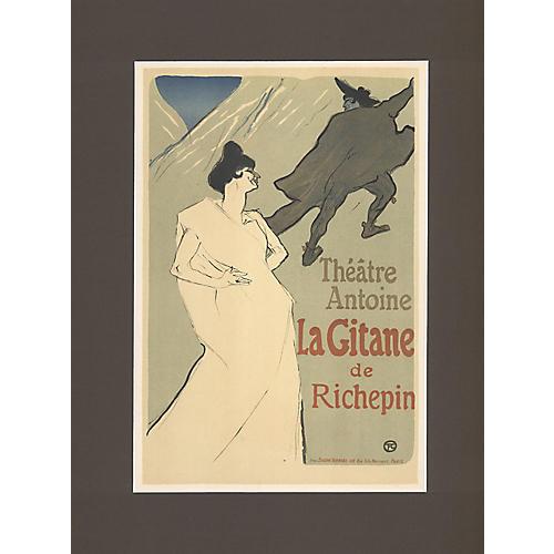 Toulouse Lautrec Theatre Poster
