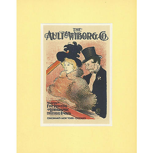 Ault & Wiborg Inks by Toulouse-Lautrec