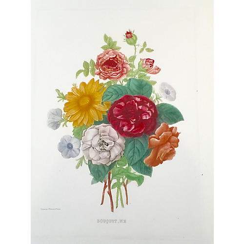 Bouquet No 2 by Jean-Pierre Redouté