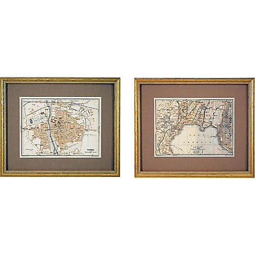 Parma & Lugano Maps, S/2