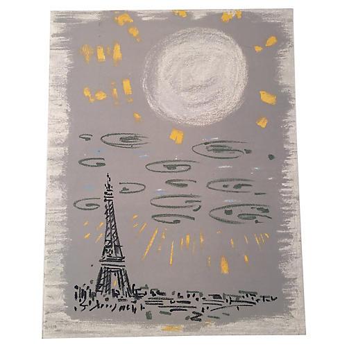 Eiffel Tower from Regards sur Paris