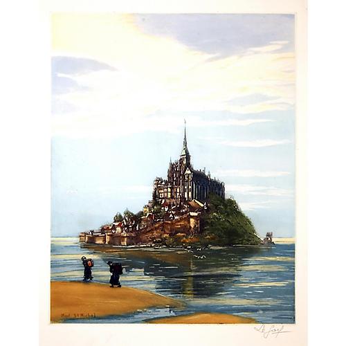 Historic Le Mont St. Michel