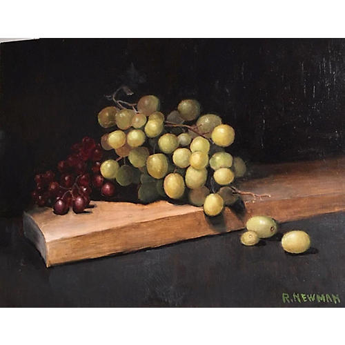 Grapes on a Board