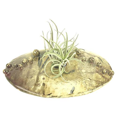 Hand-Thrown Ceramic Succulent Planter