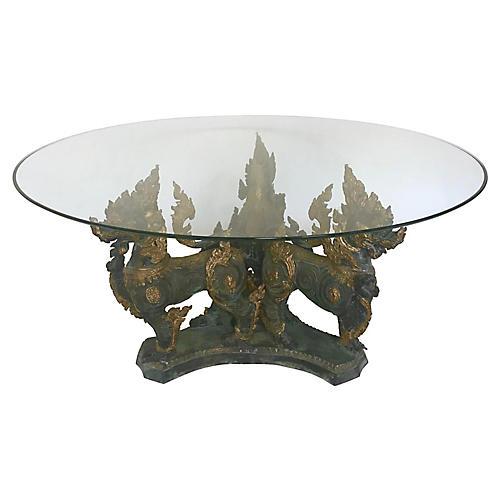 Thai Foo Lions Coffee Table