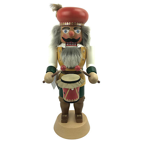 German Military Drummer Nutcracker