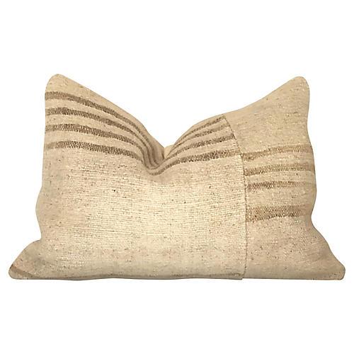 Turkish Kilim Lumbar Pillow