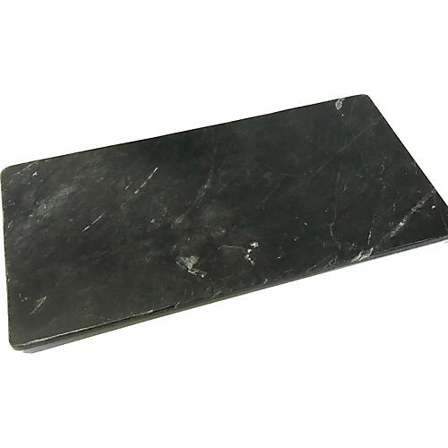 """Black Marble 18"""" Serving Tray"""
