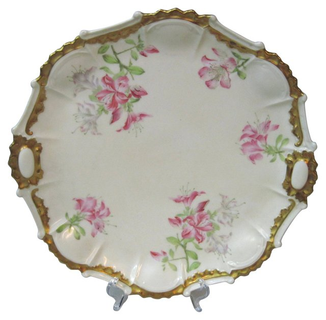 Limoges Lily Serving Tray
