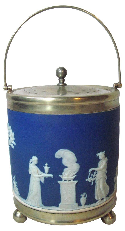 Wedgwood Silverplate Biscuit Barrel