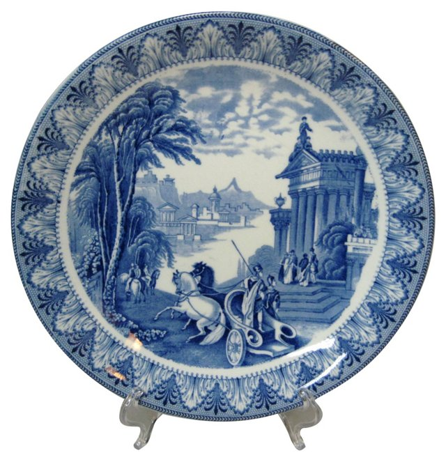 Antique Staffordshire Plate, C. 1825