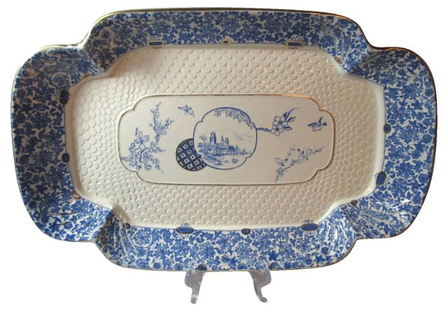 English Aesthetic Serving Tray