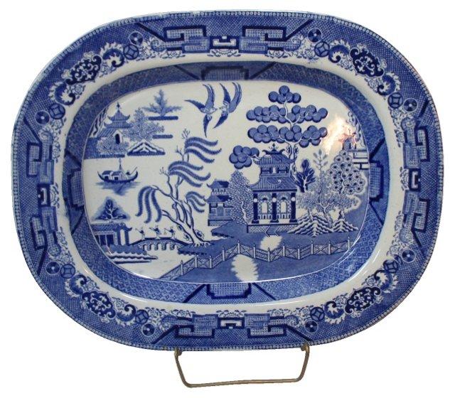 Ridgways Blue Willow Platter