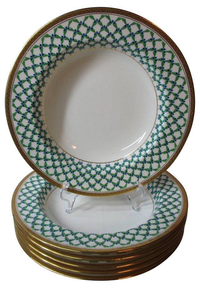 Minton Soup Bowls, S/6