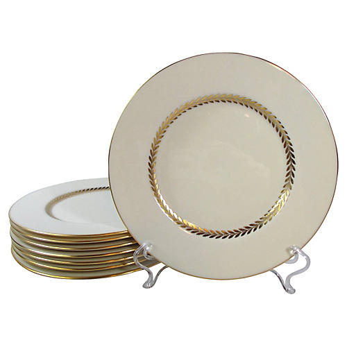 Lenox Dessert Plates, S/8