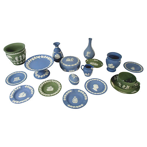 Wedgwood Porcelain Dishes, 16 Pcs