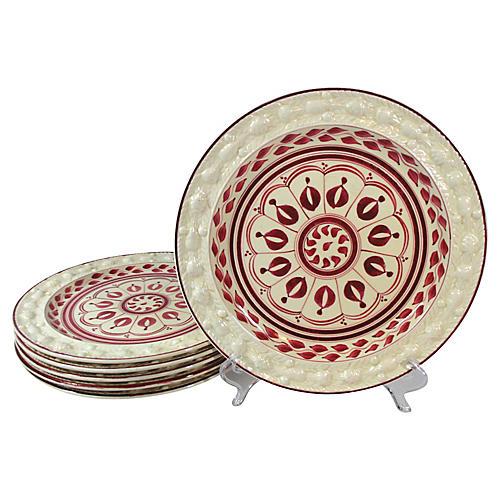 Staffordshire Dinner Plates, S/6