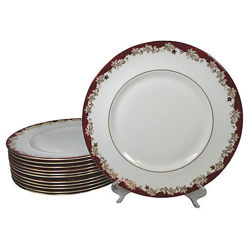 Royal Doulton Dinner Plates, S/12