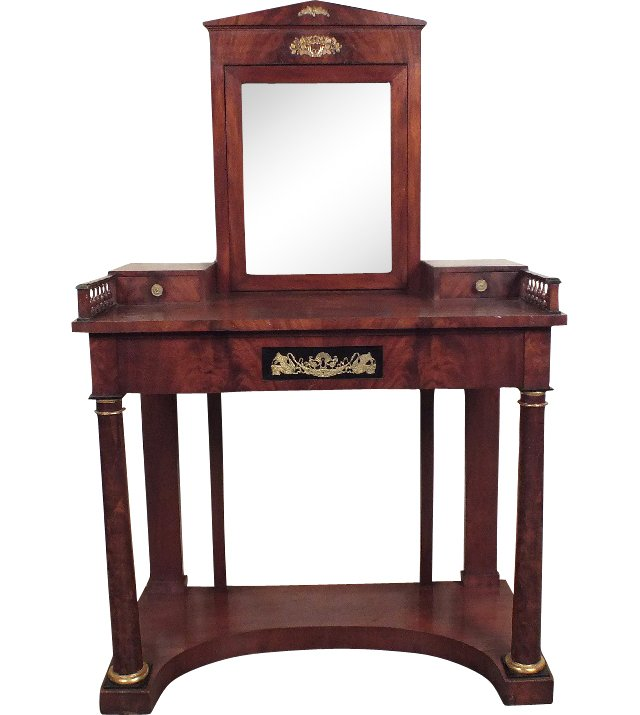 French Empire-Style Vanity