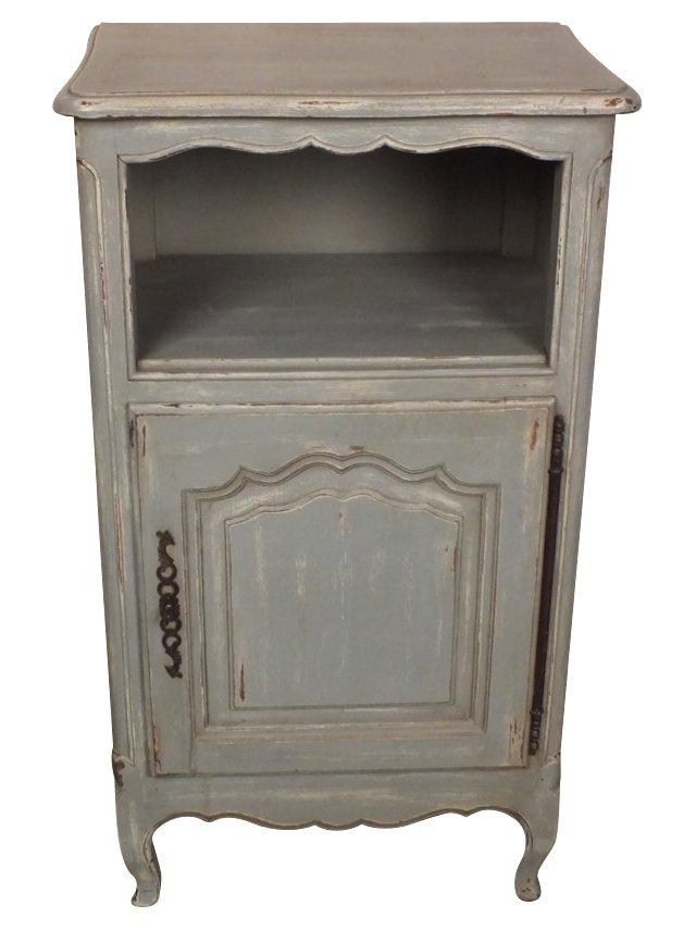 1950s Gray Cabinet